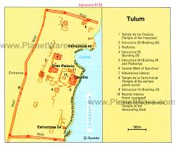 tulum map visiting tulum attractions tips tours planetware