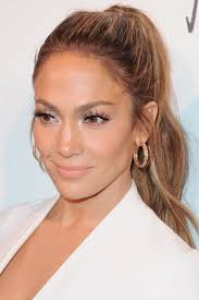 j lo ponytail hairstyles 20 new ways to wear a ponytail best celebrity ponytails of 2017