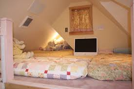 storybook cottage twin bed full size mattress bed in smaller 2nd dormer and the twin mattress