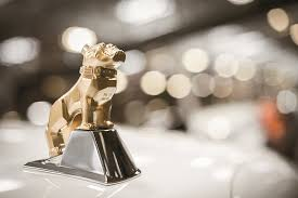 the story mack trucks trademark bulldog ornament