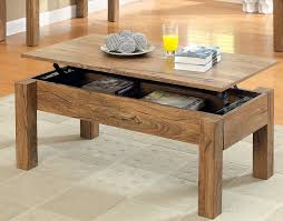 simple coffee table ideas brown rectangle simple timber wood pull up coffee table ideas to