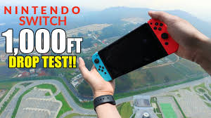 nintendo switch drop test from 1000 feet durability review