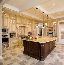 Kitchen Dark Cabinets Light Granite Kitchen Dark Cabinets Light Granite Plus White Ceramic Flooring