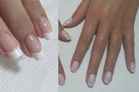 difference between acrylic nails and pink and white nail paint