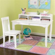 kidkraft avalon table and chair set white avalon desk with hutch and chair in white 26705