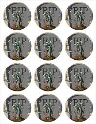 free printable tags spooky halloween cupcake toppers tags and