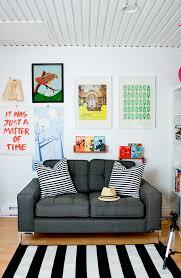 artsy living room design homedesignboard