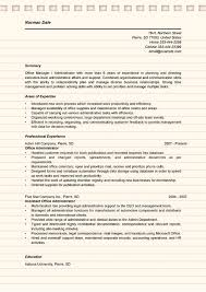 office administrator sample resume office admin resume sample