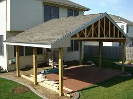 Patio Roof Designs Plans How To Build A Roof A Patio Outdoor Goods