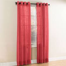 crushed voile grommet curtain sheer curtains brylanehome