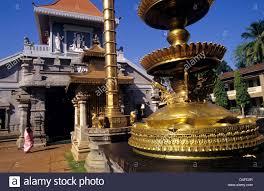 hindu l l at mahalsa hindu temple mardol ponda l goa india stock