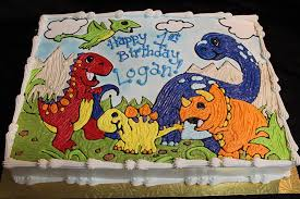 dinosaur cakes birthday cakes pittsburgh pastries a la carte