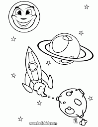 space color pages coloring home