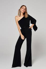 evening jumpsuits for 15 black jumpsuits for a cool evening look sheerluxe com