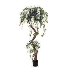 artificial flowering trees for rent lease