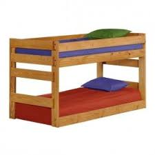 low bunk beds foter