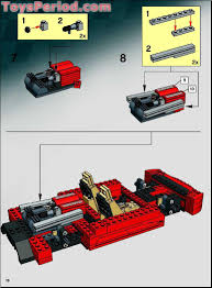 ferrari lego lego 8671 ferrari 430 spider 1 17 set parts inventory and
