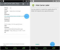 android label how to hide your carrier label from android lollipop s lockscreen