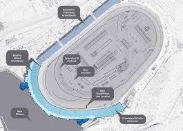 Las Vegas Motor Speedway Map by Phoenix Raceway Project Announced 178 Million Track Re