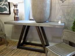 Concrete Console Table Concrete Console Table Hudson Goods