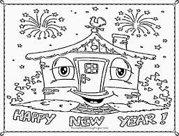 happy new year coloring sheets for kids printable pages in diaet me