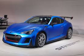 widebody subaru brz subaru brz sti concept debuts at new york auto show