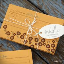 seed envelopes inkello letterpress flower personalized seed envelopes 288