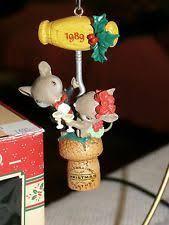 enesco mice holiday tinkertoy tree treasury of christmas ornament