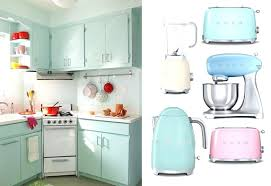 the kitchen collection fascinating retro kitchen appliances blue color ideas petal pink