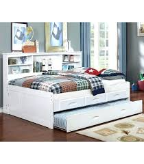 twin captains bed with bookcase headboard bookcase captains bed ianwalksamerica com