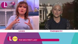 will melania trump redecorate the white house lorraine youtube