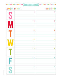 printable calendar 2017 for planner bi weekly planner roberto mattni co