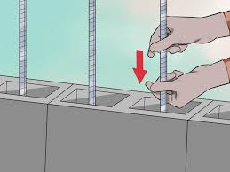 How To Cover Old Concrete by 4 Ways To Lay Concrete Blocks Wikihow