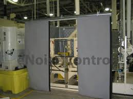 sound curtains industrial noise control products