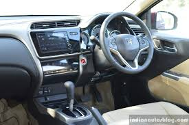 mitsubishi delica interior 2017 honda city zx facelift interior first drive review indian