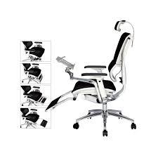 fauteuil de bureau ergonomique m馘ical fauteuil ergonomique avec support tablettes et repose pieds setico