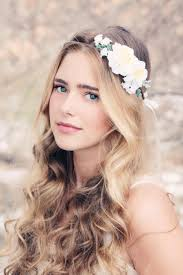 flower headpiece boho woodland wreath bridal flower crown floral headpiece
