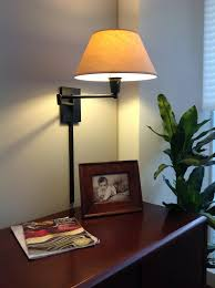 kenroy home 30110blkp simplicity wall swing arm lamp matte black