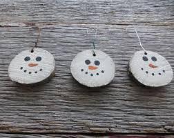 snowmen ornaments etsy