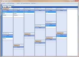 driver schedule template dispatchsoft trucking dispatch software screen