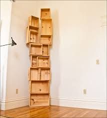 Crate Bookcase Passionfly Wine Crate Bookshelf