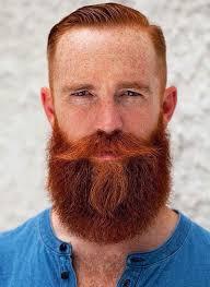 mens style hair bread ginger beard bearded glory pinterest red beard beard
