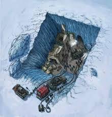 imagenes de la antartida descubrieron ruinas de una civilización de origen extraterrestre en