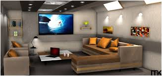 living room black wall unit home theater guide leopard armchairs