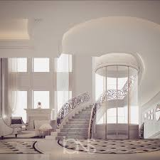 staircase lobby doha qatar luxury entrance lobby designs by