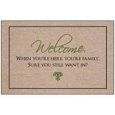doormat funny hi i u0027m mat indoor outdoor door mat hayneedle