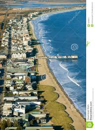 aerial view of old orchard beach downtown pier new hotel and