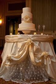 Wedding Cakes  Wedding Cake Table With Flowers Wedding Cake Table - Cake table designs