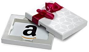 gift card in a white gift box classic