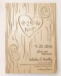 rustic save the date rustic save the dates we martha stewart weddings